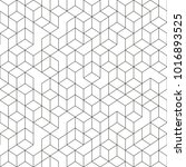 hexagonal geomteric pattern... | Shutterstock .eps vector #1016893525
