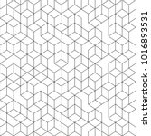 hexagonal geomteric pattern... | Shutterstock .eps vector #1016893531