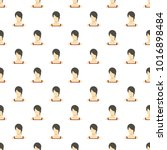 girl avatar pattern seamless in ...