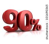 3d Rendering Of A 90 Percent I...