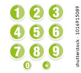 number set vector label | Shutterstock .eps vector #1016915089