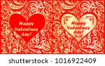 red and gold greeting cards for ...