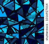 abstract seamless sport pattern ... | Shutterstock .eps vector #1016927014