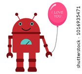 vector illustration of a toy... | Shutterstock .eps vector #1016935471