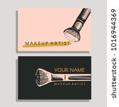vector set with logos for... | Shutterstock .eps vector #1016944369