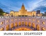 austin  texas  usa at the texas ... | Shutterstock . vector #1016951029