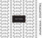modern seamless pattern.... | Shutterstock .eps vector #1016959561