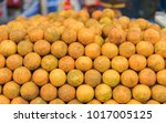 oranges for sale in a local...   Shutterstock . vector #1017005125