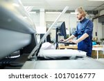 graphic printing specialist...   Shutterstock . vector #1017016777