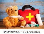 paediatric healthcare concept... | Shutterstock . vector #1017018031