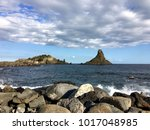 sea view from catania  sicily... | Shutterstock . vector #1017048985