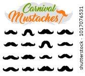Moustaches Stickers Clipart Se...
