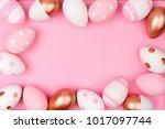 Easter Egg Frame. Rose Gold ...