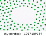 st patrick's day background.... | Shutterstock . vector #1017109159