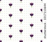 vector pattern background... | Shutterstock .eps vector #1017113644