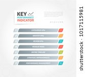 key performance indicator kpi... | Shutterstock .eps vector #1017115981