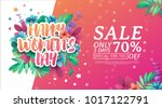 banner for the international... | Shutterstock .eps vector #1017122791