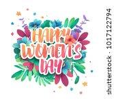 design logo to the... | Shutterstock .eps vector #1017122794