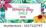 horizontal banner for sale... | Shutterstock .eps vector #1017122797