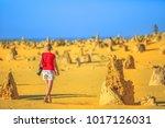 western australia travel...   Shutterstock . vector #1017126031