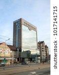 krakow  poland   jan 05  2018 ... | Shutterstock . vector #1017141715