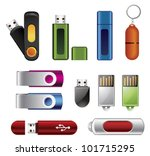 usb flash memory set