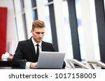 professional handsome... | Shutterstock . vector #1017158005