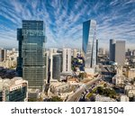 Sky Line Of Tel Aviv Towers An...