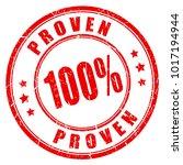 proven results vector stamp...   Shutterstock .eps vector #1017194944