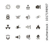 influence icons. flat simple... | Shutterstock . vector #1017198907