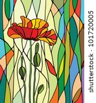 Multicolored Stained Glass Wit...