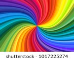 background of vivid rainbow... | Shutterstock .eps vector #1017225274