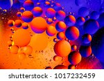 Small photo of Space or planets universe cosmic abstract background. Abstract molecule atom sctructure. Water bubbles. Macro shot of air or molecule. Biology, phycics or chymistry abstract background.