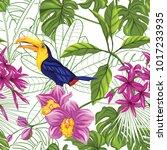 seamless pattern  background... | Shutterstock .eps vector #1017233935