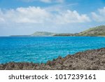 san andres island on the rough... | Shutterstock . vector #1017239161