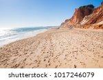 view of beautiful falesia beach ... | Shutterstock . vector #1017246079