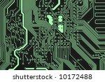 computer circuit board | Shutterstock . vector #10172488