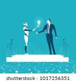 rpa robotic progress...   Shutterstock .eps vector #1017256351