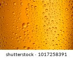 close up view of glass of beer... | Shutterstock . vector #1017258391