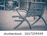 rare wintry mix around... | Shutterstock . vector #1017259549