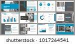 slides. modern presentation... | Shutterstock .eps vector #1017264541