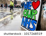 london  england. 3rd february... | Shutterstock . vector #1017268519