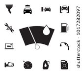 speedometr icon. set of car... | Shutterstock .eps vector #1017282097