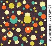 seamless paper textured polka...   Shutterstock .eps vector #101729479