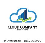 vector online consulting finance management cloud storage logo design for web logo, application logo, icons, brand identity and more