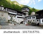 saint jovan bigorski monastery. ... | Shutterstock . vector #1017315751