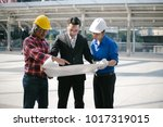 engineers and entrepreneur ... | Shutterstock . vector #1017319015