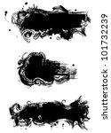 black stains | Shutterstock .eps vector #101732239