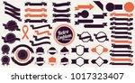vintage retro vector logo for... | Shutterstock .eps vector #1017323407