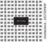 modern seamless pattern.... | Shutterstock .eps vector #1017329839